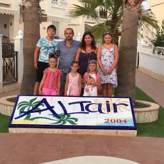 Affordable Holidays for Large Families - Renting a Villa Quesada Costa Blanca Spain