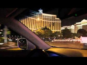 Las Vegas Strip at night May 2011 in HD